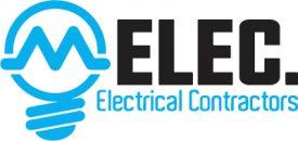 M-Elec Electrical Logo