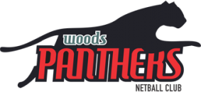Woods Panthers Netball Club Logo